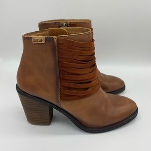 Pikolino Alicante Leather Ankle Booties